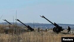 Позиції українських військ біля Дебальцева, 17 лютого 2015 року
