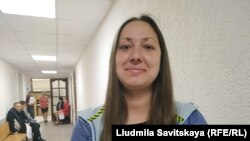 Лия Милушкина в суде