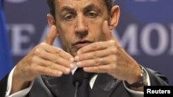 Fransa prezidenti Nicolas Sarkozy