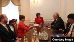 Pamje nga takimi i sotëm në Prishtinë