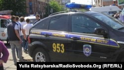 После взрывов в Днепропетровске. 27 апреля 2012 года