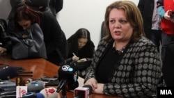 Седница на Совет на јавни обвинители на кој беше присутна и специјалната јавна обвинителка Катица Јанева.