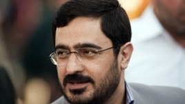 Tehran's former chief prosecutor Said Mortazavi attends an execution in Tehran in 2007.