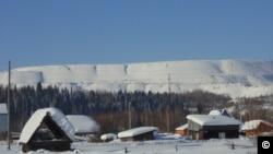 Деревня Чувашка в Кемеровской области (архивное фото)