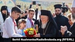 Вселенський патріарх Варфоломій. Київ, 21 серпня 2021 року