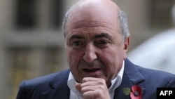 Self-exiled Russian oligarch and Kremlin foe Boris Berezovsky (file photo)