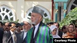 Претседателот на Авганистан Хамид Карзаи.