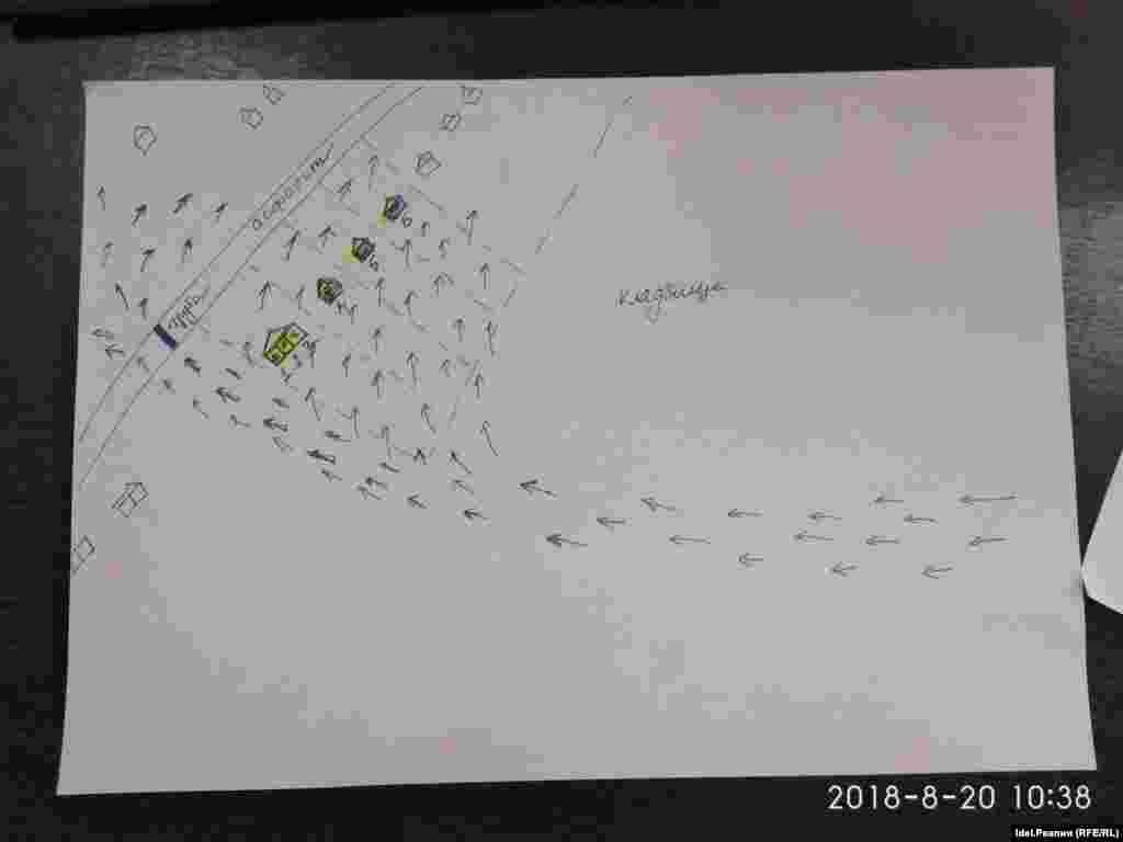 Tatarstan -- Urmanaevo -- map of Flood -- 18Oct2018