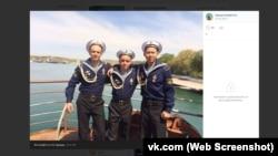 На фото слева направо: Кирилл Шустов, Эдуард Гарифуллин, Кару Яманов