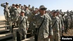 Американские солдаты в Ираке в 2007 году