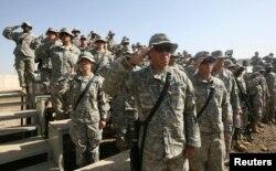 Ирактағы АҚШ сарбаздары. Бағдат, 2 қараша 2007 жыл. (Көрнекі сурет)