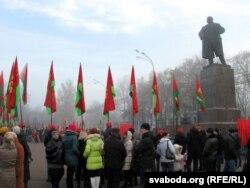 На плошчы Леніна