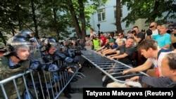 Противостояние в Москве