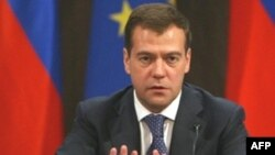 President Dmitry Medvedev (file photo)