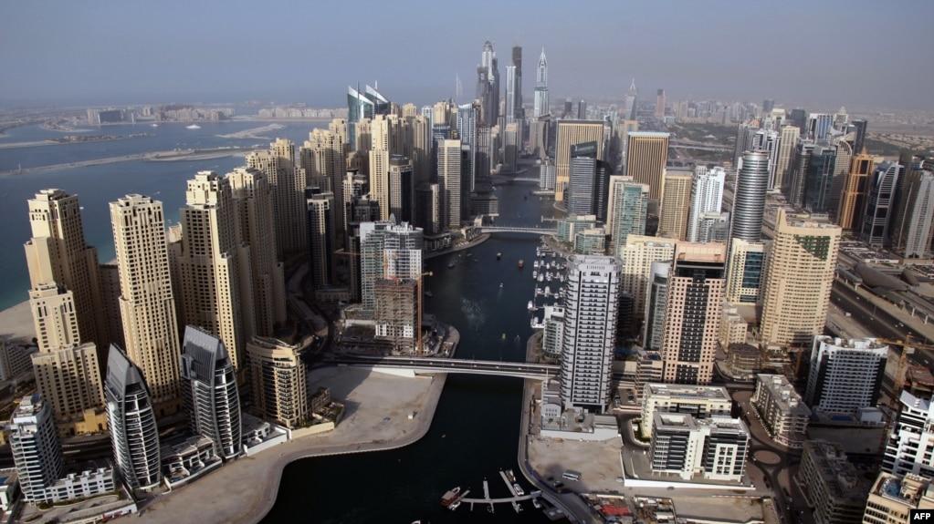 نمایی از شهر دوبی که بیشترین تجارت ایران با این امیرنشین امارات متحده عربی است.