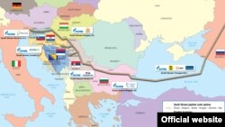 Macedonia - South stream, official from Gazprom - 2012
