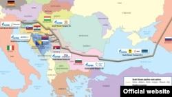 """""""Газпромның"""" 2015 жылы құрылысын бітіруді жоспарлаған """"Оңтүстік ағыс"""" газ құбыры жобасы."""