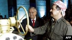 حزيران 2009الاحتفال ببدء تصدير النفط من اقليم كردستان