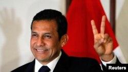 Ольянта Умала, победитель президентских выборов в Перу