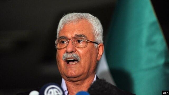 Представитель сирийской оппозиции Джордж Сабра