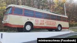 Отреставрированный троллейбус
