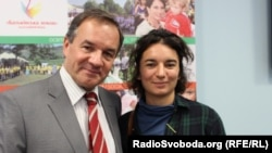Мішель Терещенко та його донька Ізабель