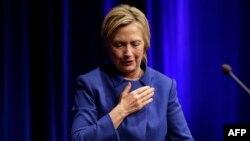 Hillary Clinton, 16 noiembrie 2016