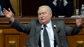 Former Polish President and Nobel Peace Prize laureate Lech Walesa (file photo)