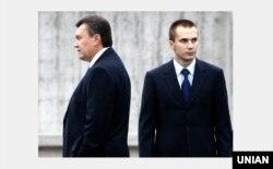 Екс-президент Віктор Янукович із сином Олександром