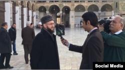 Муфтий Татарстана Камиль Самигуллин отвечает на вопросы журналистов сирийского ТВ