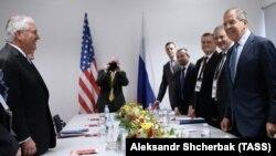وزیران خارجه روسیه و آمریکا، پیشتر در حاشیه اجلاس گروه ۲۰ با هم دیدار داشتهاند.