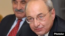 Armenian Public Council Chairman Vazgen Manukian