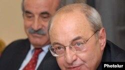 Armenia -- Vazgen Manukian, the leader of the National Democratic Union party.