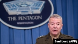 U.S. Lieutenant-General Kenneth McKenzie (file photo)
