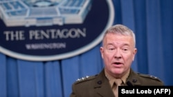 "General Frank McKenzie, U.S. Central Command chief, says Islamic State remains ""very worrisome"" in Afghanistan."