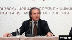 Министр иностранных дел Уругвая Луис Альмагро (архив)
