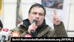 Міхеїла Саакашвілі затримали в Києві ввечері 8 грудня на квартирі одного з його прихильників