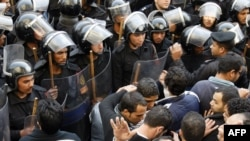Столкновения в Каире в среду