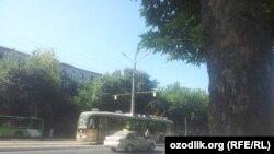 13-трамвайнинг Мирзо Улуғбек кўчаси бўйлаб сўнгги қатнови