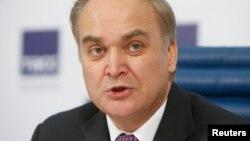 Russian Deputy Defense Minister Anatoly Antonov said NATO is more active near Russia's borders than Russia itself.