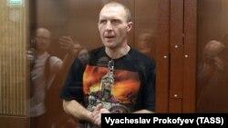 """Обвиняемый по """"московскому делу"""" Эдуард Малышевский"""