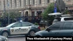 Полиция в Тбилиси (архивное фото)