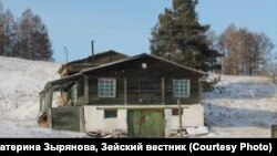 поселок Юбилейный в Приамурье, архивное фото