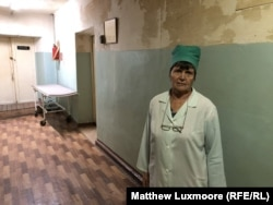 Valentina Novosyolova, a 69-year-old nurse who suffers from complications after cancer treatment 11 years ago.