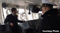 Курсанти Інституту ВМС побували на кораблях НАТО. Фото прес-центру Командування ВМС ЗС України