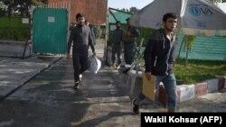 Афганцы, депортированные из Германии (архивное фото).