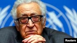 Международный посредник по Сирии Лахдар Брахими.