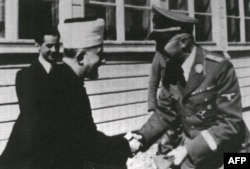 دیدار امین الحسینی، مفتی بیتالمقدس، با هایملر فرمانده گشتاپو