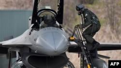 Letelica F-16, ilustrativna fotografija