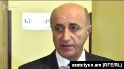 Генеральный директор ООО «Газпром Армения» Грант Тадевосян (архив)